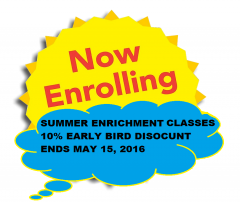 ENROLLING NOW SUMMER2